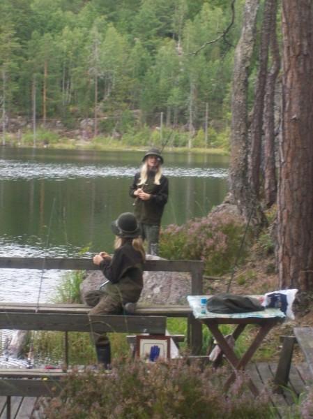 För hobbyfiskare finns ett brett verksamhetsområde